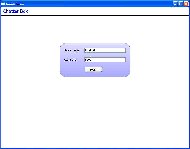 Qt Web Example