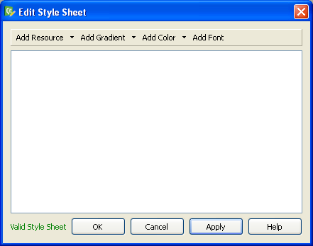Qt Stylesheets Tutorial – Dave Smith's Blog